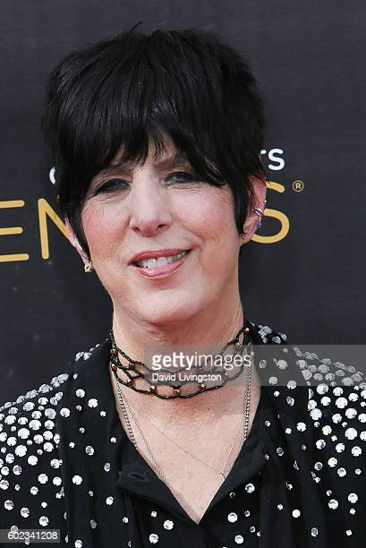 Songwriter Diane Warren attends the 2016 Creative Arts Emmy Awards Day 1 at the Microsoft Theater on September 10 2016 in Los Angeles California