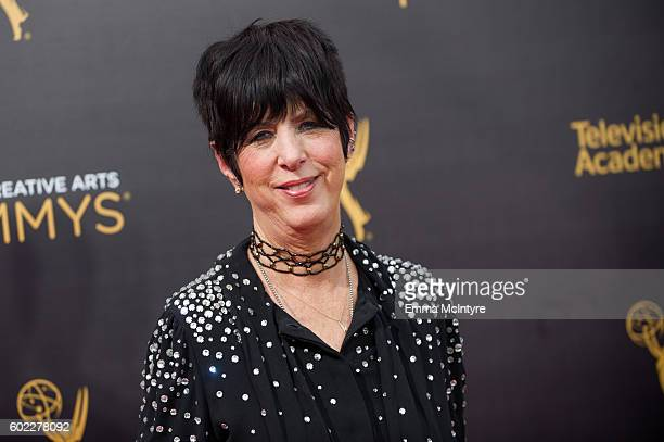 Songwriter Diane Warren attends the 2016 Creative Arts Emmy Awards at Microsoft Theater on September 10 2016 in Los Angeles California