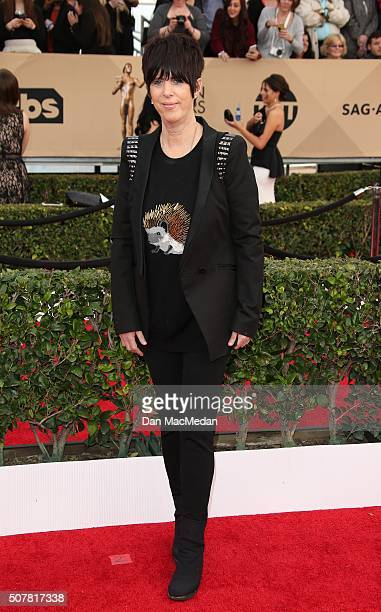 Songwriter Diane Warren attends the 22nd Annual Screen Actors Guild Awards at The Shrine Auditorium on January 30 2016 in Los Angeles California