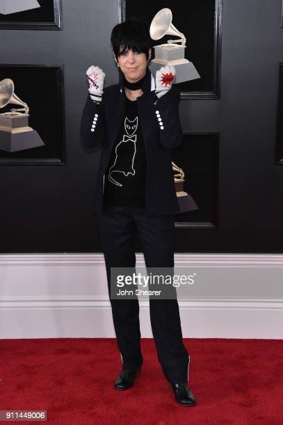 Songwriter Diane Warren attends the 60th Annual GRAMMY Awards at Madison Square Garden on January 28 2018 in New York City