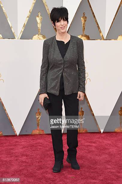 Songwriter Diane Warren attends the 88th Annual Academy Awards at Hollywood Highland Center on February 28 2016 in Hollywood California