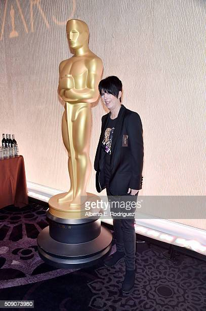 Songwriter Diane Warren attends the 88th Annual Academy Awards nominee luncheon on February 8 2016 in Beverly Hills California