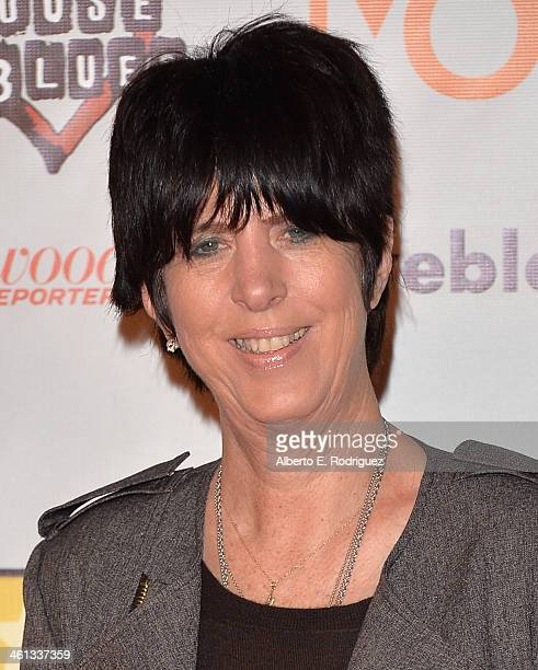 Songwriter Diane Warren attends the Broadcast Film Critics Association's Celebration of Black Cinema at the House of Blues Sunset Strip on January 7...