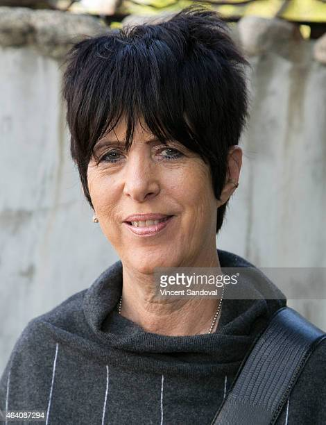 Songwriter Diane Warren attends The Society of Composers and Lyricists PreOscar champagne reception at Cafe La Boheme on February 21 2015 in West...