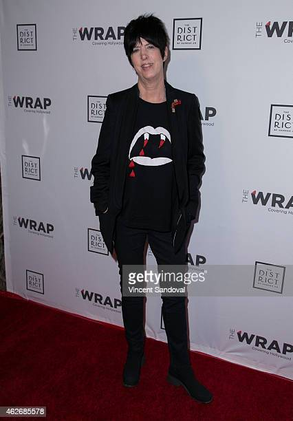 Songwriter Diane Warren attends TheWrapcom 6th Annual PreOscar party at The District Restaurant on February 2 2015 in Los Angeles California