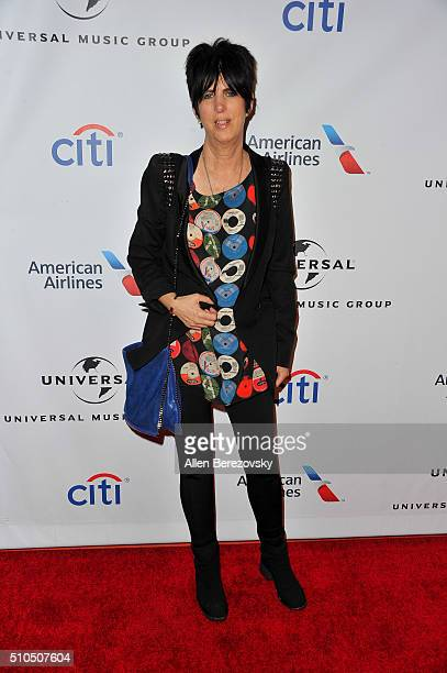 Songwriter Diane Warren attends Universal Music Group's 2016 GRAMMY after party at The Theatre At The Ace Hotel on February 15 2016 in Los Angeles...