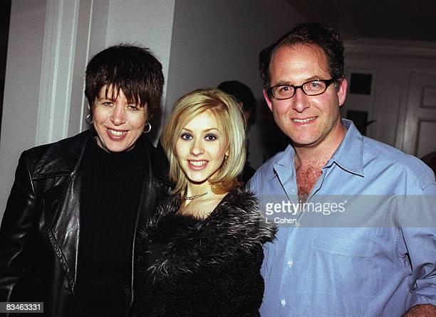 Songwriter Diane Warren Christina Aguilera and Ron Fair