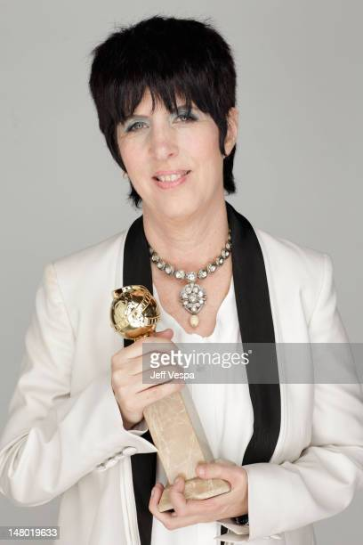 Songwriter Diane Warren winner of the Best Original Song award for the song You Haven't Seen the Last of Me from the film Burlesque poses for a...