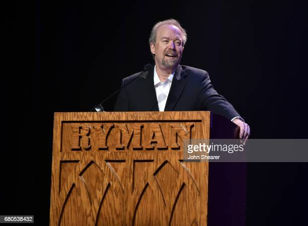 Songwriter Don Schlitz speaks onstage during the 2017 AIMP Nashville Awards on May 8, 2017 in Nashville, Tennessee.