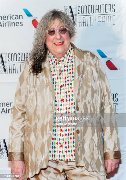 Songwriter Hall of Fame Inductee Allee Willis attends the 2018 Songwriter's Hall Of Fame Induction and Awards Gala at New York Marriott Marquis Hotel...