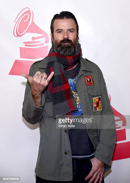 Songwriter Jarabe de Palo attends the 2014 Person of the Year honoring Joan Manuel Serrat at the Mandalay Bay Events Center on November 19 2014 in...
