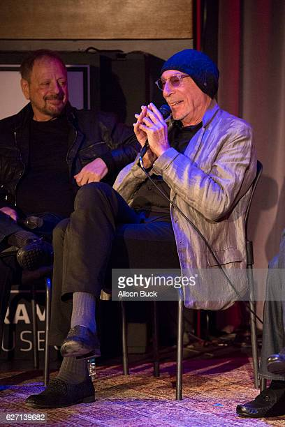 Songwriter Jeff Barry onstage during Bert Berns Event at The GRAMMY Museum on December 1 2016 in Los Angeles California