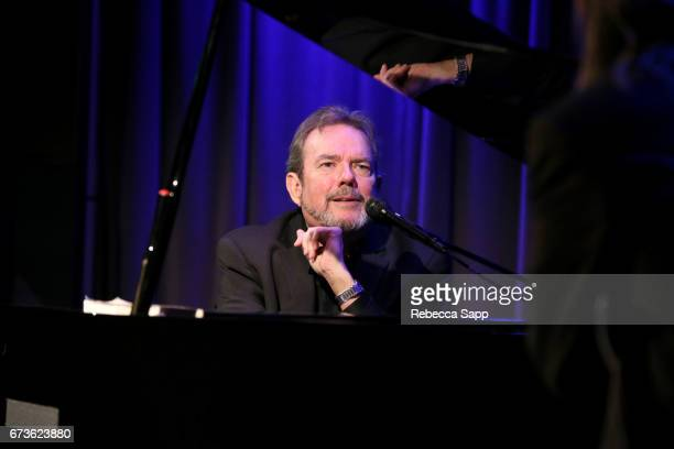 Songwriter Jimmy Webb speaks onstage at An Evening With Jimmy Webb at The GRAMMY Museum on April 26 2017 in Los Angeles California