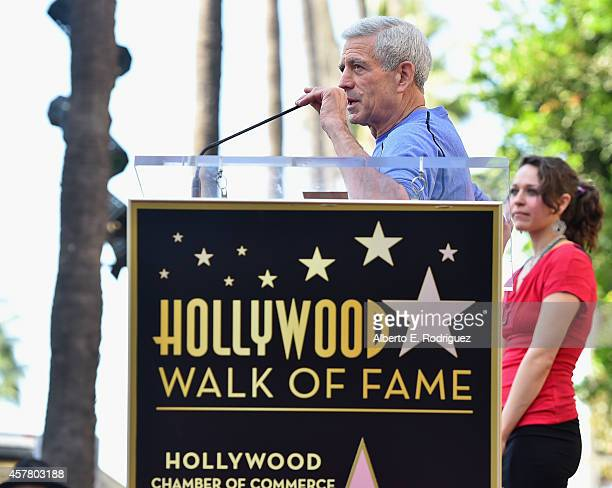 Songwriter Joe Henry attend the ceremony posthumosly honoring John Denver with the 2531st star on the Hollywood Walk of Fame on October 24 2014 in...