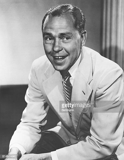 Songwriter Johnny Mercer famous for such hits as 'Atchison Topeka and the Santa Fe ' was the 'Mr Music' during the first week of NBC BANDSTAND which...