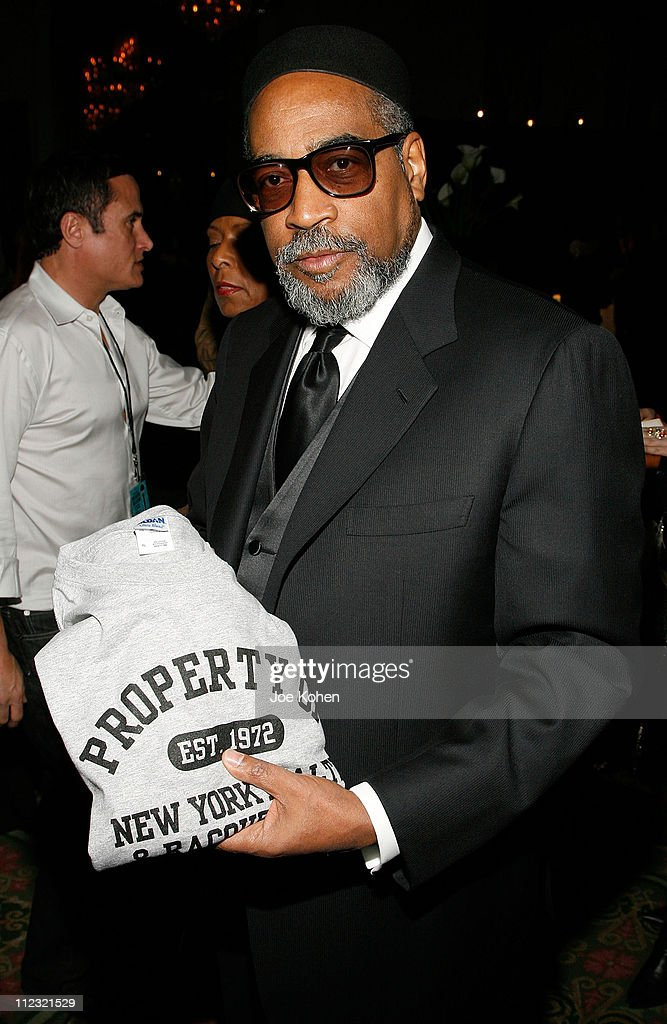 Songwriter Kenny Gamble visits the Rock and Roll Hall of Fame Gift Lounge produced by On 3 Productions at the Waldorf-Astoria Hotel on March 10, 2008 in New York City. **EXCLUSIVE