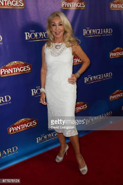 Songwriter Linda Thompson arrives at the premiere of 'The Bodyguard' at the Pantages Theatre on May 2 2017 in Hollywood California