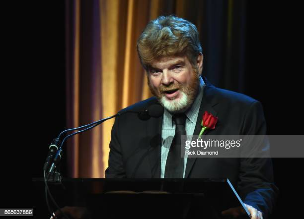 Songwriter Mac McAnally attends 2017 Nashville Songwriters Hall Of Fame Awards at Music City Center on October 23 2017 in Nashville Tennessee