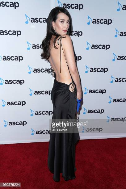 Songwriter Madison Emiko Love attends the 2018 ASCAP Pop Music Awards on April 23 2018 in Beverly Hills California