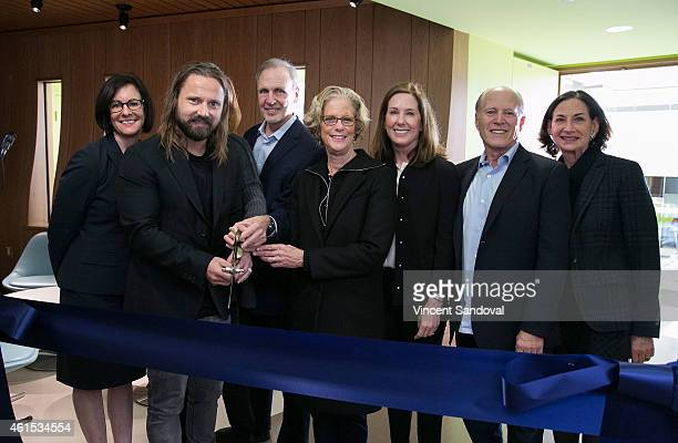 Songwriter Martin Sandberg, Jenny Petersson, President of Lucasfilm Kathy Kennedy, Head of The Archer School for Girls Elizabeth English, Producer...