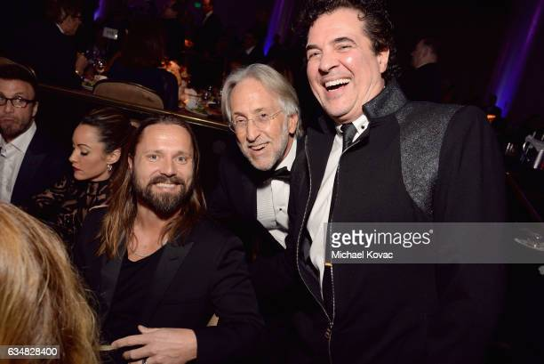 Songwriter Max Martin President/CEO of The Recording Academy and GRAMMY Foundation President/CEO Neil Portnow and President and CEO of the Big...