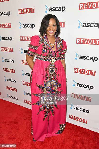 Songwriter Mia Booker attends the 2016 ASCAP Rhythm Soul Awards at the Beverly Wilshire Four Seasons Hotel on June 23 2016 in Beverly Hills California