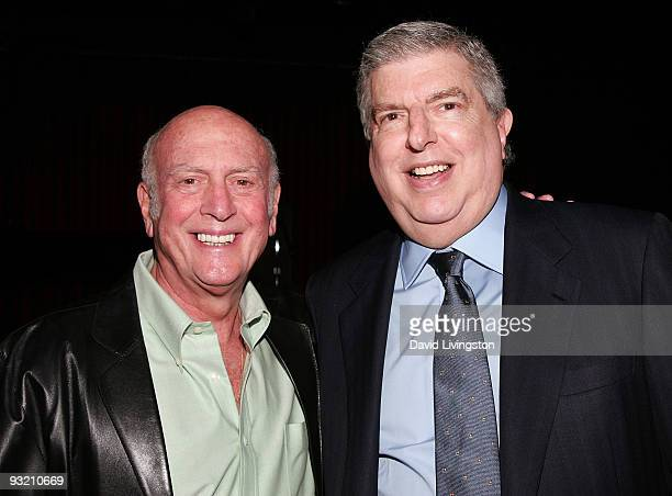 Songwriter Mike Stoller and composer Marvin Hamlisch attend ASCAP's reception honoring Hamlisch and Alan and Marilyn Bergman at the Catalina Bar...