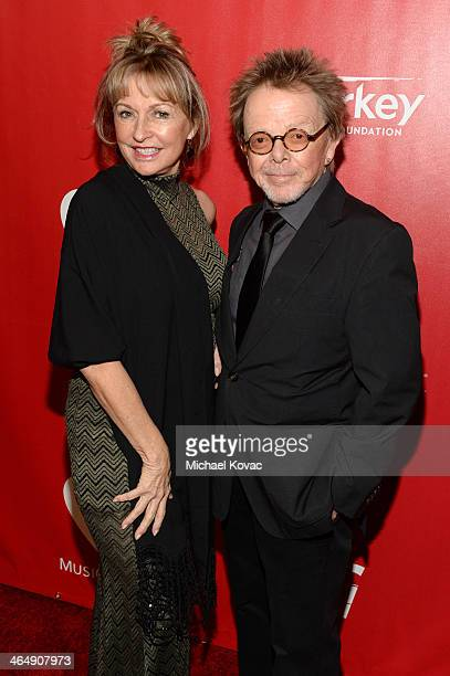 Songwriter Paul Williams and author Mariana Williams attend 2014 MusiCares Person Of The Year Honoring Carole King at Los Angeles Convention Center...
