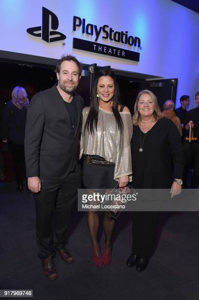 Songwriter Phil Barton musician Sara Evans and songwriter and publisher Liz Rose attend the Country Music Hall of Fame and Museum's 'All for the...