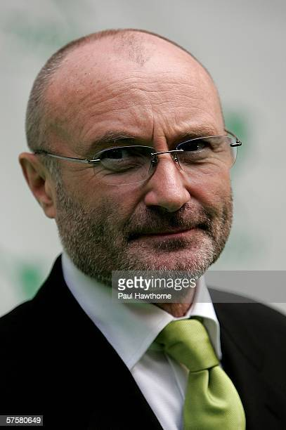 Songwriter Phil Collins attends the opening night of 'Tarzan' at Richard Rodgers Theatre May 10 2006 in New York City