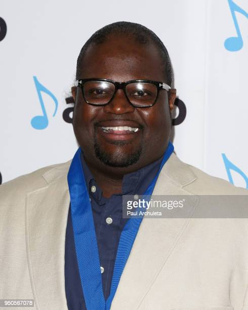 Songwriter Poo Bear attends the 2018 ASCAP Pop Music Awards at The Beverly Hilton Hotel on April 23 2018 in Beverly Hills California