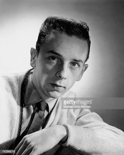 Songwriter, producer and member of The Teddy Bears, Phil Spector poses for a portrait circa 1957 in Los Angeles, california.