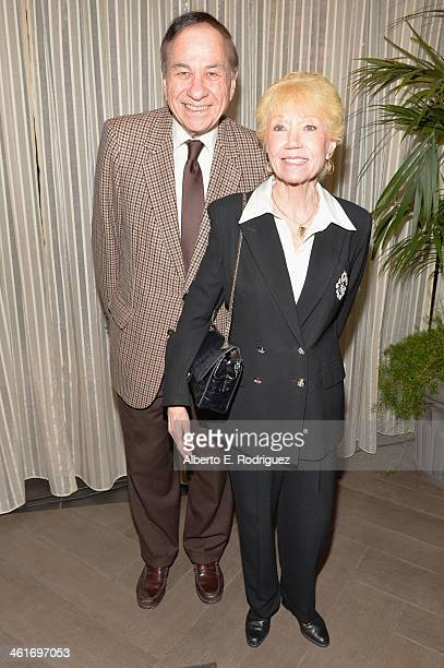 Songwriter Richard M Sherman and wife Elizabeth Sherman attends the 14th annual AFI Awards Luncheon at the Four Seasons Hotel Beverly Hills on...