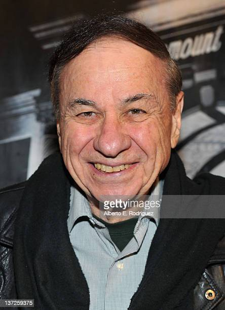 Songwriter Richard M Sherman arrives to the Academy of Motion Picture Arts Sciences' celebration for Paramount Pictures' 100th Anniversary at the...