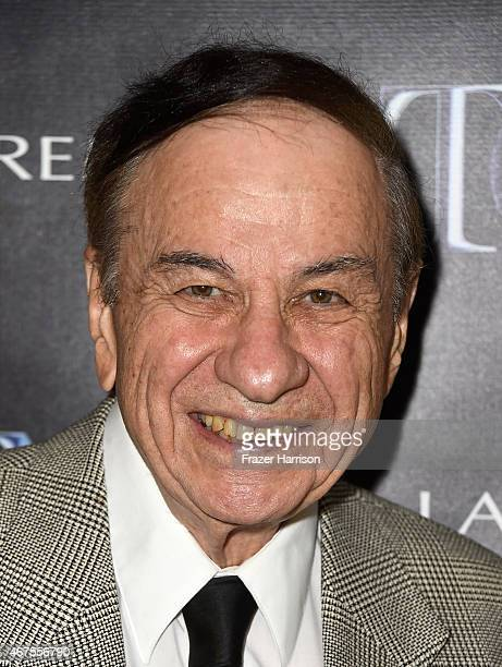 Songwriter Richard M Sherman attends The Tony Awards celebration of Broadway in Hollywood at Sunset Towers on March 25 2015 in West Hollywood...