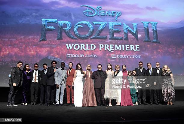Songwriter Robert Lopez, Kristen Anderson-Lopez, Composer Christophe Beck, actors Jason Ritter, Alfred Molina, Sterling K. Brown, Jonathan Groff,...