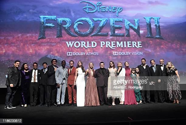 Songwriter Robert Lopez Kristen AndersonLopez Composer Christophe Beck actors Jason Ritter Alfred Molina Sterling K Brown Jonathan Groff Idina Menzel...