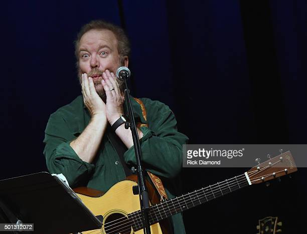 Songwriter Session: Don Schlitz at The Country Music Hall of Fame and Museum in the Ford Theater on December 13, 2015 in Nashville, Tennessee.