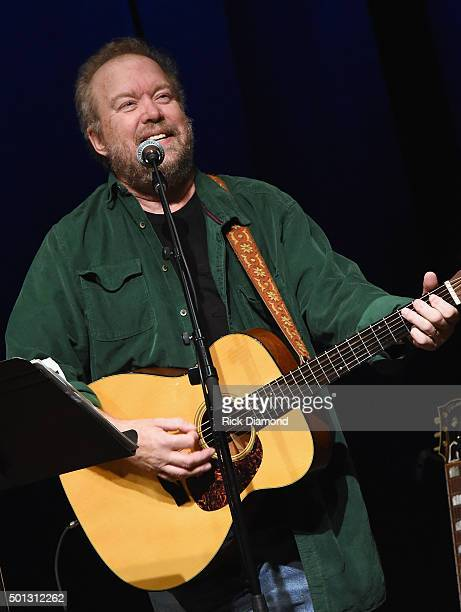 Songwriter Session Don Schlitz at The Country Music Hall of Fame and Museum in the Ford Theater on December 13 2015 in Nashville Tennessee