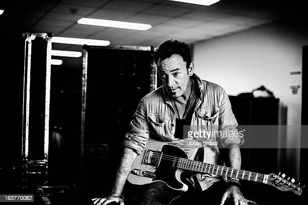 Songwriter singer and musician Bruce Springsteen is photographed for The New Yorker on July 30 2012 in Prague Czech Republic