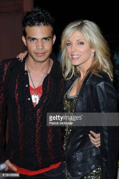 Songwriter Steban 'Sprite' Demari and Marla Maples attend Project We The Children presents a benefit for HAITI Earthquake victims and homeless...