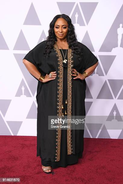 Songwriter Taura Stinson attends the 90th Annual Academy Awards Nominee Luncheon at The Beverly Hilton Hotel on February 5 2018 in Beverly Hills...