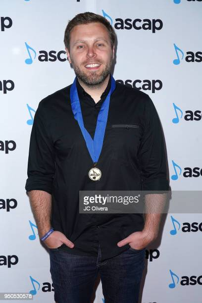 Songwriter Zach Crowell attends the 2018 ASCAP Pop Music Awards on April 23 2018 in Beverly Hills California