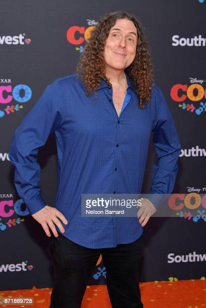 Songwriter/actor Weird Al Yankovic attends Disney Pixar's 'Coco' premiere at El Capitan Theatre on November 8 2017 in Los Angeles California