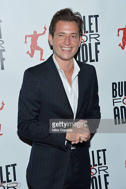 Songwriter/musician Peter Cincotti attends Bullet For Adolf Off Broadway Opening Night at New World Stages on August 8 2012 in New York City