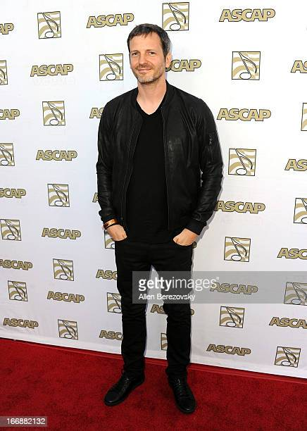 Songwriter/producer Dr. Luke arrives at the 30th Annual ASCAP Pop Music Awards at Loews Hollywood Hotel on April 17, 2013 in Hollywood, California.