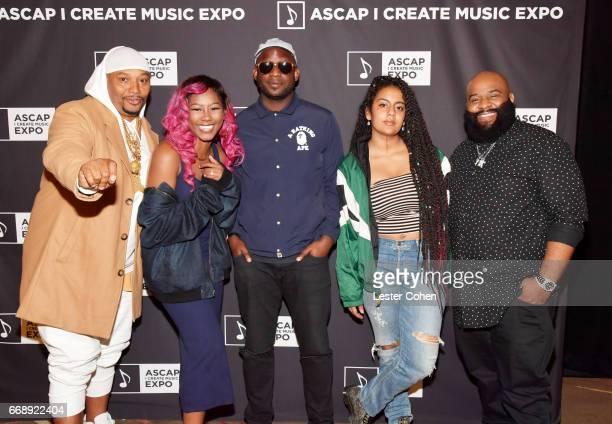 Songwriterproducer Malik Yusef Jones songwriter Priscella Renea songwriterproducer Jean Baptiste singersongwriter Bibi Bourelly and songwriter...