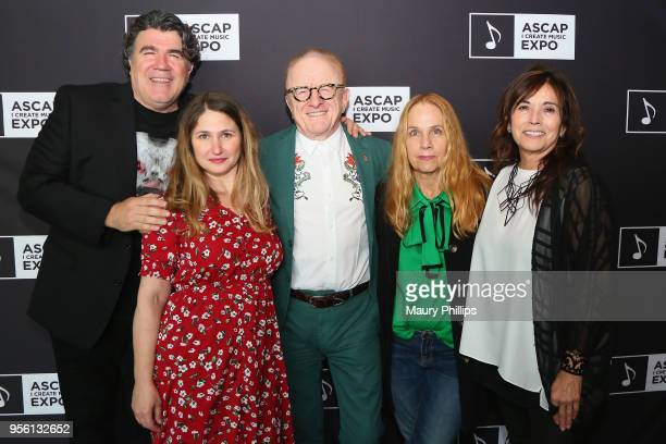Songwriter/Producer/Arranger Darrell Brown Singer/Songwriter Anna Waronker Producer Peter Asher and Singer/Songwriter Charlotte Caffey and Assistant...