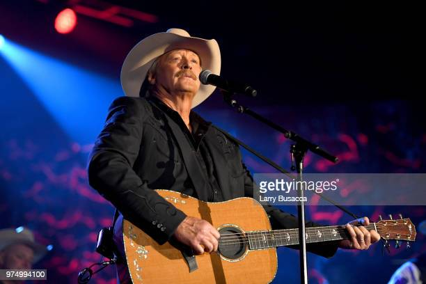 Songwriters Hall of Fame Inductee Alan Jackson performs onstage during the Songwriters Hall of Fame 49th Annual Induction and Awards Dinner at New...