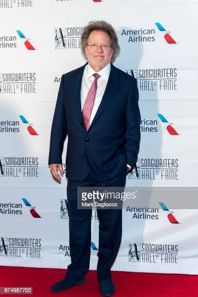 Songwriters Hall of Fame Inductee Steve Dorff attends the 2018 Songwriter's Hall Of Fame Induction and Awards Gala at New York Marriott Marquis Hotel...